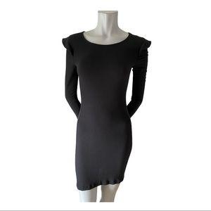 Aritzia Talula Black Bodycon Dress Size Small